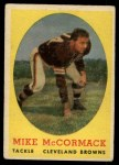 1958 Topps #59  Mike McCormack  Front Thumbnail