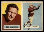 1957 Topps #38  Don Stonesifer  Front Thumbnail