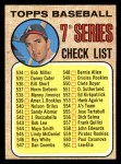 1968 Topps #518 AMR Checklist 7  -  Clete Boyer Front Thumbnail