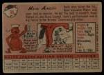 1958 Topps #30 *YN* Hank Aaron  Back Thumbnail