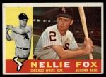 1960 Topps #100   Nellie Fox Front Thumbnail