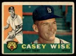 1960 Topps #342   Casey Wise Front Thumbnail