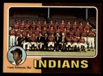 1975 Topps #331  Indians Team Checklist  -  Frank Robinson Front Thumbnail