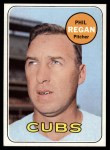 1969 Topps #535   Phil Regan Front Thumbnail