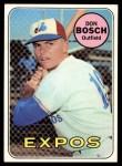 1969 Topps #578   Don Bosch Front Thumbnail