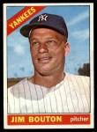 1966 Topps #276  Jim Bouton  Front Thumbnail
