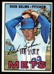 1967 Topps #386   Dick Selma Front Thumbnail