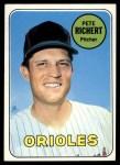 1969 Topps #86  Pete Richert  Front Thumbnail