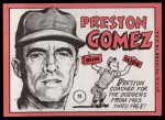 1969 Topps #74   Preston Gomez Back Thumbnail