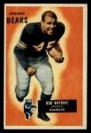1955 Bowman #58   Bobby Watkins Front Thumbnail