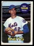 1969 Topps #72   Ron Taylor Front Thumbnail