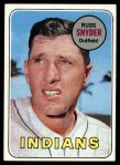 1969 Topps #201   Russ Snyder Front Thumbnail