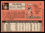 1969 Topps #591   Mike Hedlund Back Thumbnail
