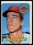 1969 Topps #348   Steve Hargan Front Thumbnail