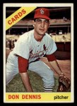 1966 Topps #142  Don Dennis  Front Thumbnail