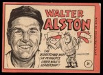 1969 Topps #24 COR Walter Alston  Back Thumbnail