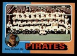 1975 Topps #304  Pirates Team Checklist  -  Danny Murtaugh Front Thumbnail