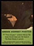 1966 Donruss Green Hornet #13   There he goes Back Thumbnail