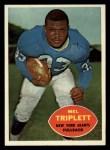 1960 Topps #73   Mel Triplett Front Thumbnail
