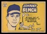 1970 Topps #464  All-Star  -  Johnny Bench Back Thumbnail