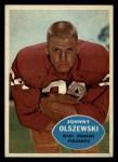 1960 Topps #125   John Olszewski Front Thumbnail