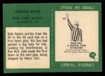1966 Philadelphia #39  Bears Team  Back Thumbnail