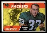 1968 Topps #183   Jim Grabowski Front Thumbnail