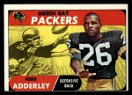 1968 Topps #131  Herb Adderley  Front Thumbnail