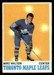 1970 Topps #109  Mike Walton  Front Thumbnail