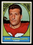 1967 Topps #3   Gino Cappelletti Front Thumbnail