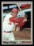 1970 Topps #380   Tony Perez Front Thumbnail
