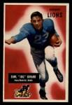 1955 Bowman #15  Earl Jug Girard  Front Thumbnail