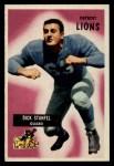 1955 Bowman #36   Dick Stanfel Front Thumbnail