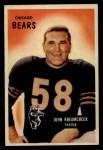 1955 Bowman #76   John Kreamcheck Front Thumbnail