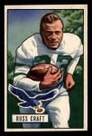 1951 Bowman #47   Russ Craft Front Thumbnail