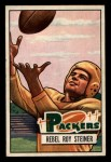 1951 Bowman #16   Roy Steiner Front Thumbnail