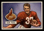 1951 Bowman #30   Don Paul Front Thumbnail