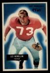 1955 Bowman #104   Leo Nomellini Front Thumbnail