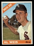 1966 Topps #66  Al Weis  Front Thumbnail