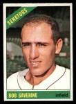 1966 Topps #312   Bob Saverine Front Thumbnail