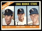 1966 Topps #529  White Sox Rookies  -  Dennis Higgins / Bill Voss / Lee Elia Front Thumbnail