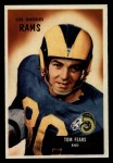 1955 Bowman #43   Tom Fears Front Thumbnail