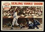 1964 Topps #139  1963 World Series - Game #4 - Sealing Yanks' Doom - Frank Howard  Front Thumbnail