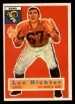 1956 Topps #30  Les Richter  Front Thumbnail