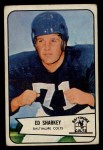 1954 Bowman #109   Ed Sharkey Front Thumbnail