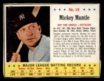 1963 Jello #15  Mickey Mantle  Front Thumbnail