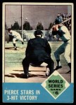 1963 Topps #147  1962 World Series - Game #6 - Pierce Stars in 3-Hit Victory  -  Billy Pierce / Roger Maris Front Thumbnail