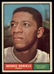 1961 Topps #368   Bennie Daniels Front Thumbnail