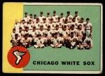 1963 Topps #288   White Sox Team Front Thumbnail