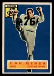 1956 Topps #9  Lou Groza  Front Thumbnail